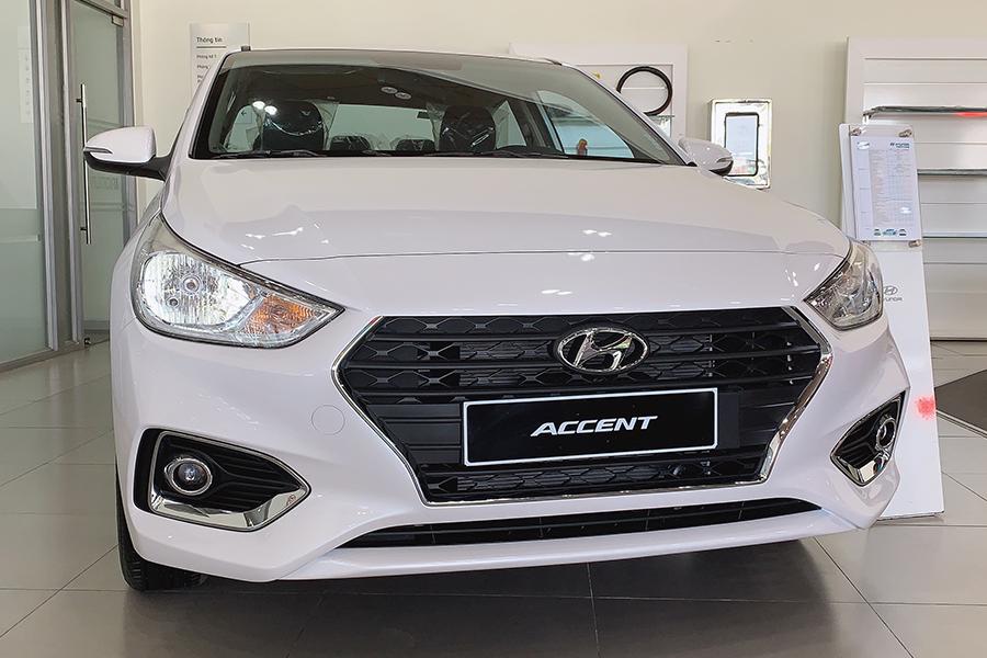 Ngoại thất Hyundai Accent 1.4 AT Đặc Biệt - Hình 1
